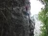 climbing at maninska