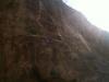 sue climbing on kalymnos