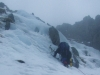 Icy bit on Parsley Fern Gully (left)